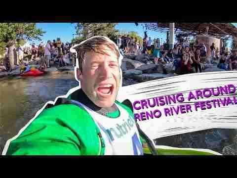 Cruising around the Reno River Festival: Wild and Free Tour Vlog series