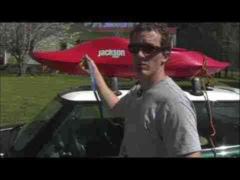 EJ's River Running Basics- Tying On Your Kayak and Setting Shuttle